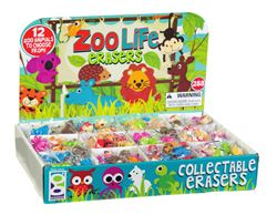 Picture of Zoo Life Eraser Display