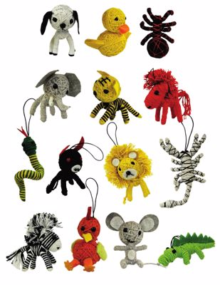 Picture of Animal String Dolls