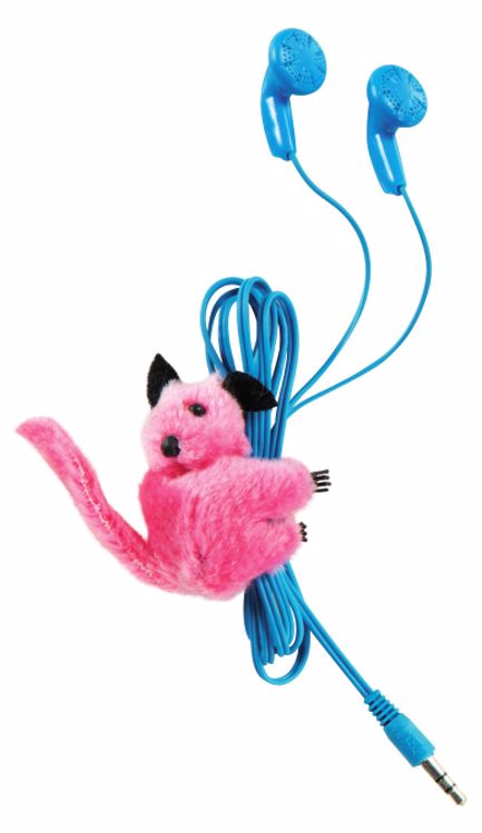 Picture of Clip-On Critter Plush Animal Clips