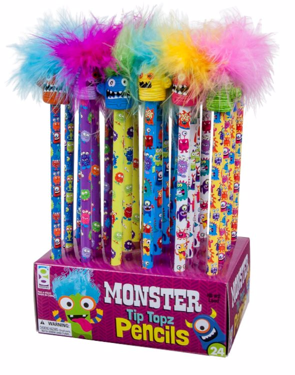 Picture of Monster Tip Topz Pencils