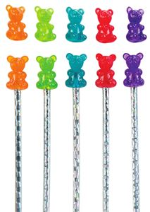 Picture of Scented Gummy Bear Pencil Toppers