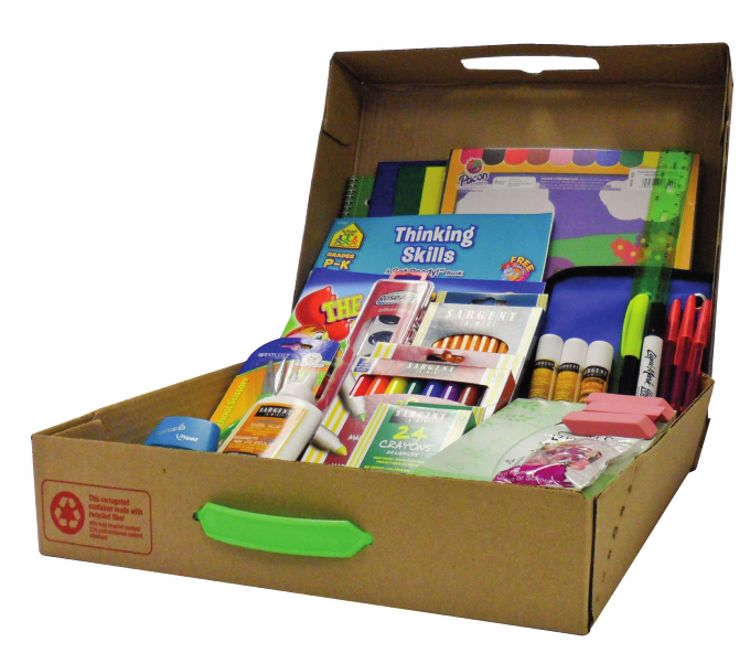 Picture of 6 Ct. Geddes Primary School Supply Kit