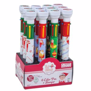 Picture of The Elf on the Shelf® 6-Color Pens with Stampers