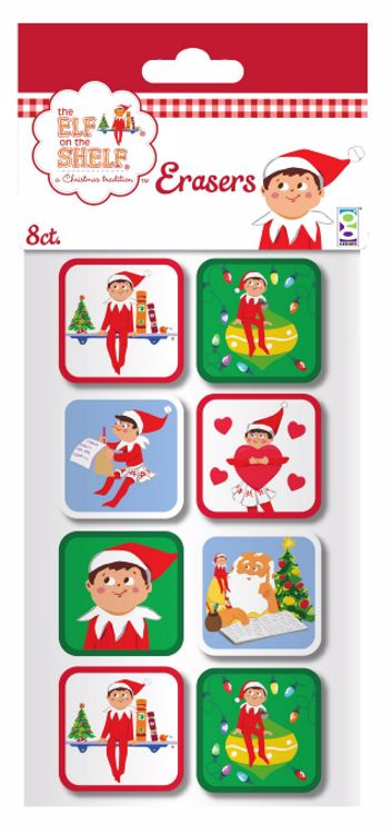 Picture of 8 Ct. The Elf on The Shelf® Erasers