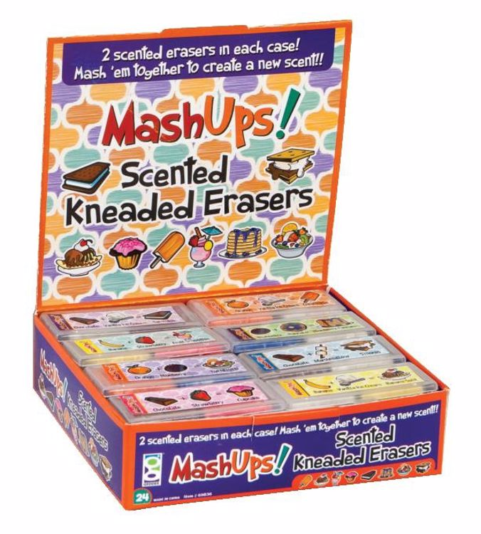 Picture of Mash Up Scented Kneaded Erasers