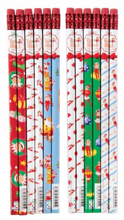 Picture of 6 CT. The Elf on the Shelf® Pencils