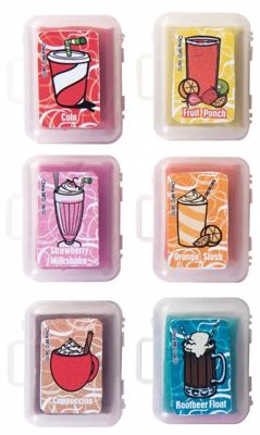 Picture of Snack Attack Scented Kneaded Erasers