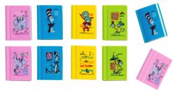 Picture of Dr. Seuss Book Erasers