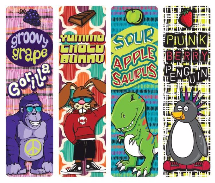 Picture of Kapow Scented Bookmarks