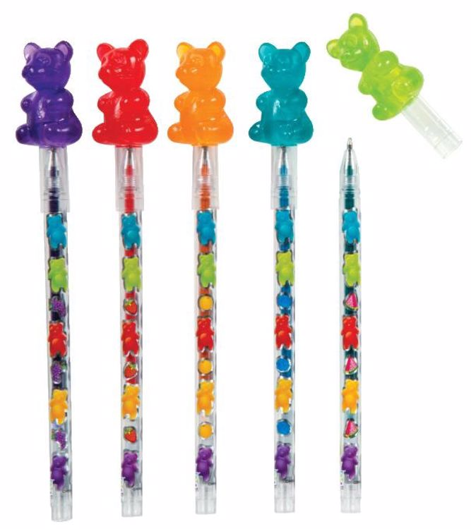 Picture of Scented Gummy Bear Gel Pens