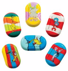 Picture of Dr. Seuss Stubbies Erasers