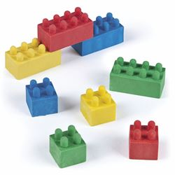 Picture of Color Brick Erasers