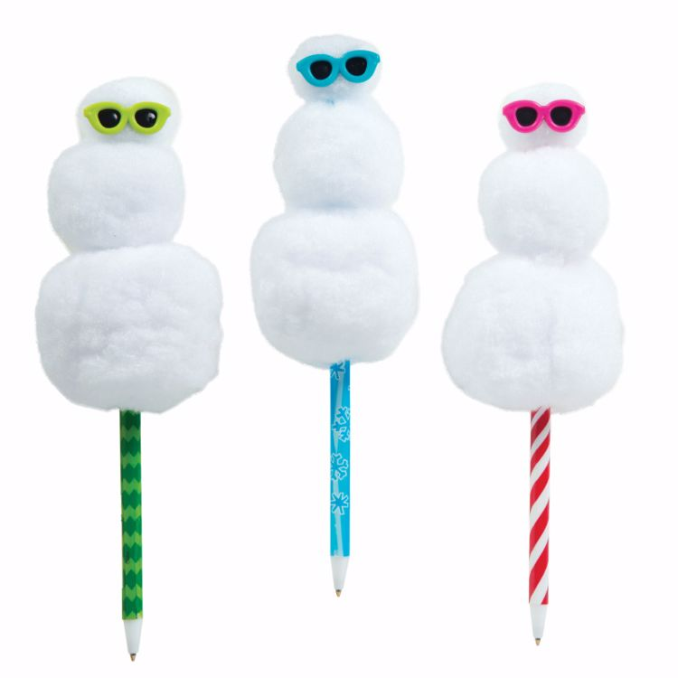 Picture of Squishy Snowman Pens