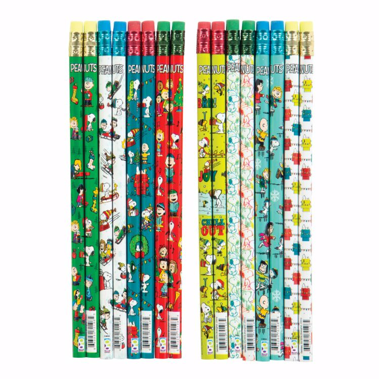 Picture of Peanuts® Holiday Pencils