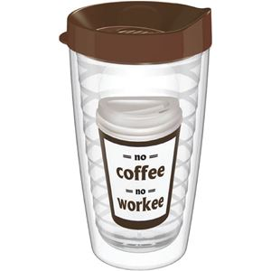 Picture of No Coffee, No Workee Tritan Tumbler