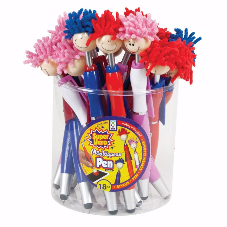 Picture of Super Hero MopToppers™ Stylus Pens