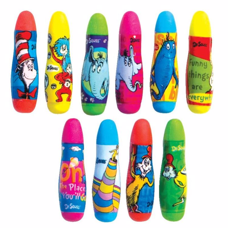 Picture of Dr. Seuss Mini Erasers
