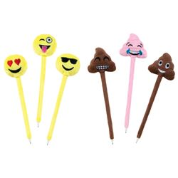 Picture of Emoji Plush Pens