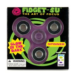 Picture of Fidget-Su Glow-in-the-Dark Spinner