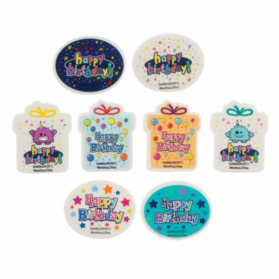 Picture of Happy Birthday To You Erasers