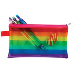 Picture of Rainbow View Pencil Pouches