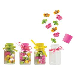 Picture of Fireflies & Butterflies Eraser Jars