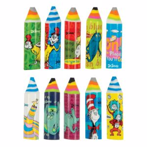 Picture of Dr. Seuss™ Crayon Erasers