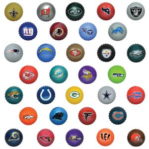 """Picture of 5"""" NFL Knobby Balls"""