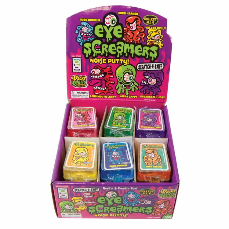 Picture of Wacky Whiffs Scratch-n-Sniff Eye Screamers Putty