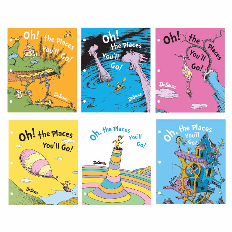 Picture of Oh The Places You'll Go Folders