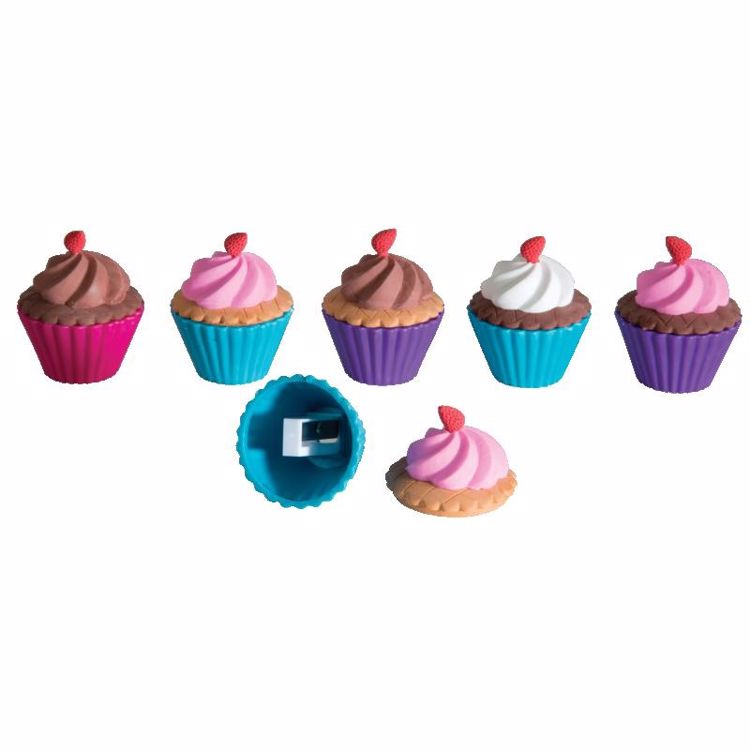 Picture of Cupcake Shoppe Scented Erasers and Sharpeners