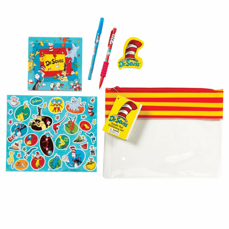 Picture of Dr. Seuss™ Doodle Pad Stationery Sets