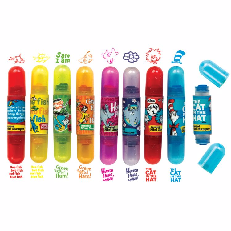 Picture of Dr. Seuss Double-Sided Scented Mini Stampers