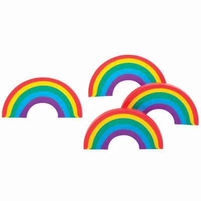 Picture of Over the Rainbow Erasers