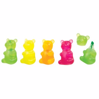 Picture of Glow in the Dark Gummy Bear Highlighters
