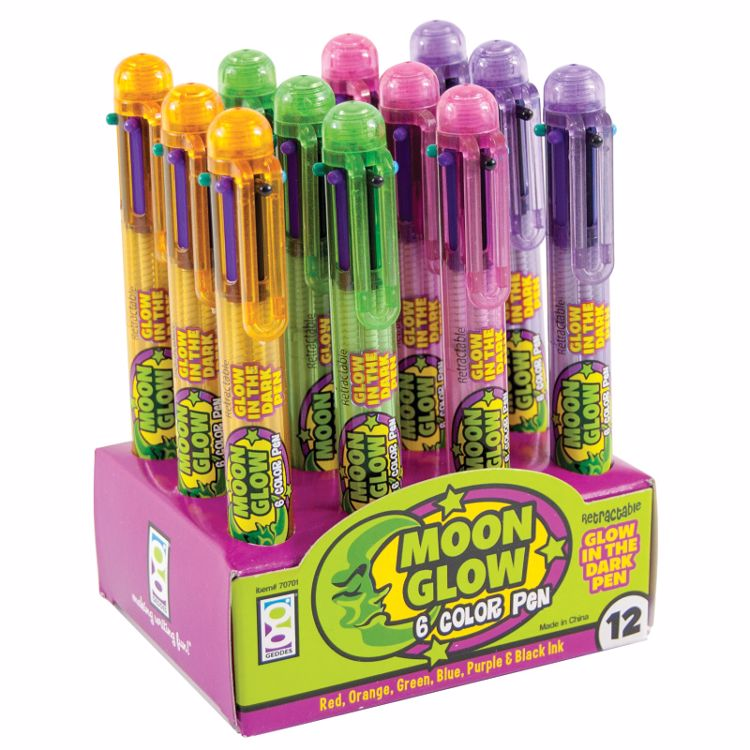 Picture of Moon Glow 6-Color Pens