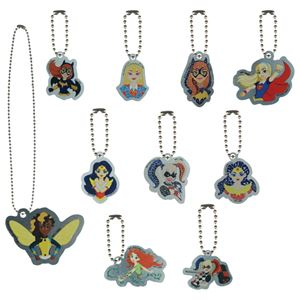Picture of DC Super Hero Girls Dog Tag Key Chain & Necklace Assortment