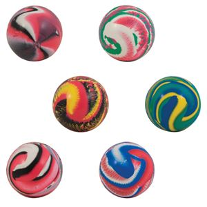 Picture of 45mm Swirled Hi-Bounce Balls