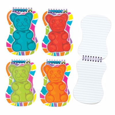 Picture of Scratch 'n' Sniff Scented Gummy Bear Notebooks