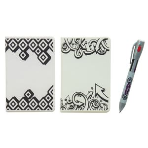 Picture of UV Magic Notebooks with 4 Color UV Pens