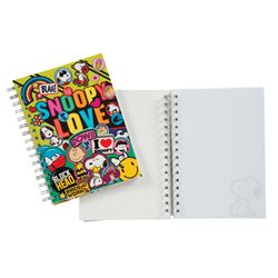 Picture of Peanuts® Spiral Journal w/ Small Die Cut Notepad - 1-CT