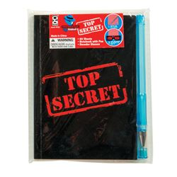 Picture of Top Secret Confidential Spy Notebooks