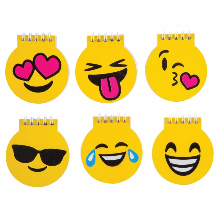 Picture of Emoji Spiral Notepads