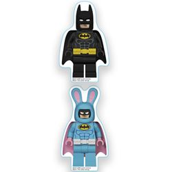 Picture of Lego: The Batman Movie Erasers: Batman/Bunny Batman