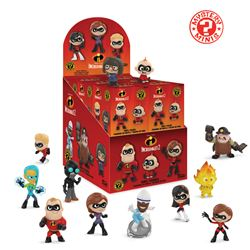 Picture of Funko Mystery Minis: Disney Pixar Incredibles 2 Vinyl Figures