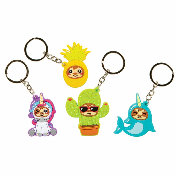 Picture of Sloth in Disguise Key Chains