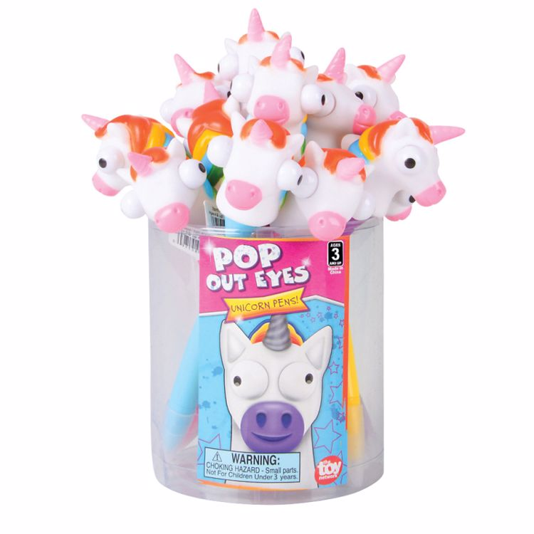 Picture of Pop Out Eye Unicorn Pens