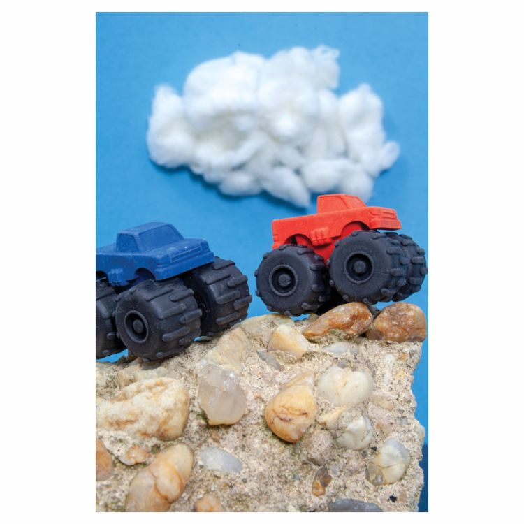 Picture of Trucks Rule! Erasers