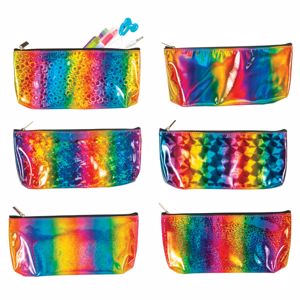 Picture of Rainbow Prism Pencil Pouches