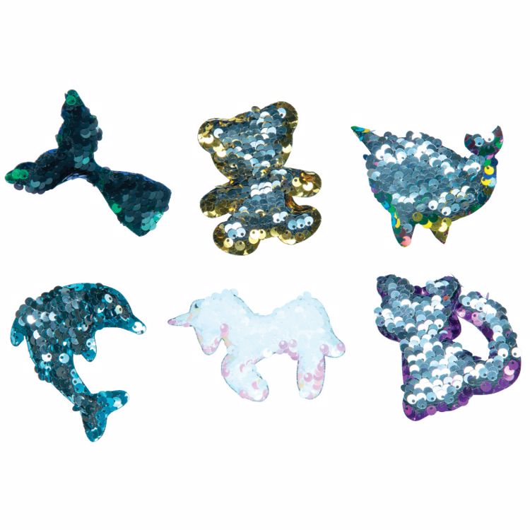 Picture of Sequins Locker Magnets